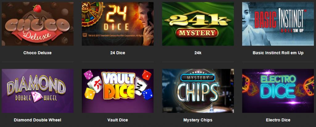 betFirst.be casino dice spellen