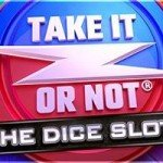 take it or not dice slot logo